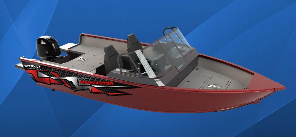 Новая модель - BERKUT FISHMASTER!